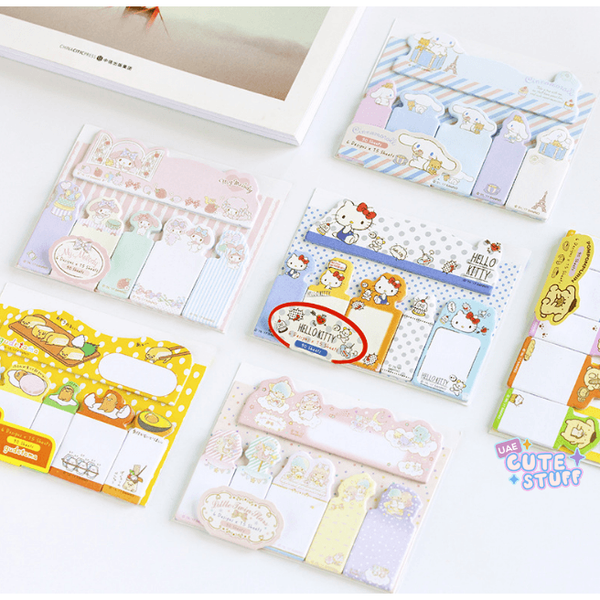 Kawaii Sticky Note-sticky note-UAE Cute Stuff