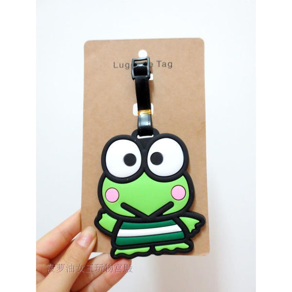 Kero kero Keroppi Luggage Tag-luggage-UAE Cute Stuff