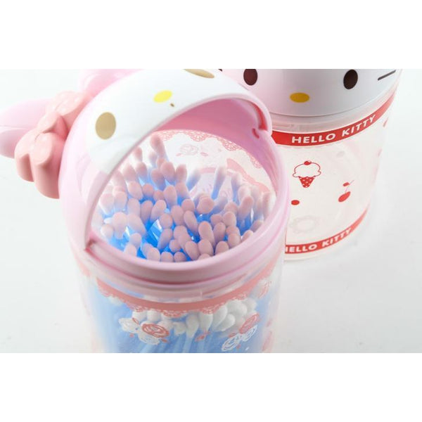 Kitty Hello or My Melody Cotton box/ Flip storage box-accessory-UAE Cute Stuff