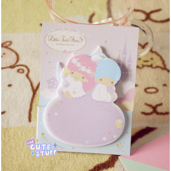 Little Twin Stars Kawaii Sticky Note?-sticky note-UAE Cute Stuff