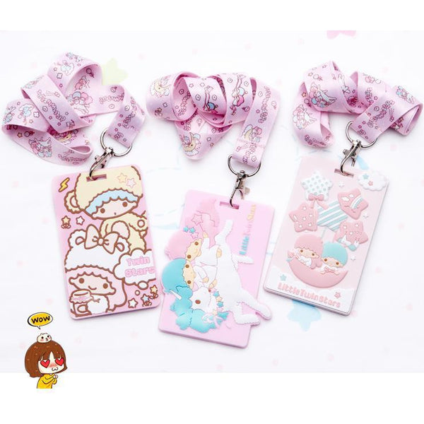 Little Twin Stars Lanyard-lanyard-UAE Cute Stuff