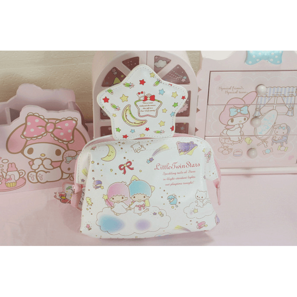 Little Twin Stars make-up bag-pencil case-UAE Cute Stuff