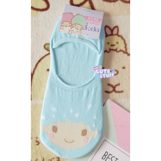 Little Twin Stars Short Sock-sock-UAE Cute Stuff