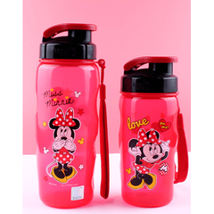 Lock&Lock Anti-Spill Minnie Water Bottle-coffee& tea-UAE Cute Stuff