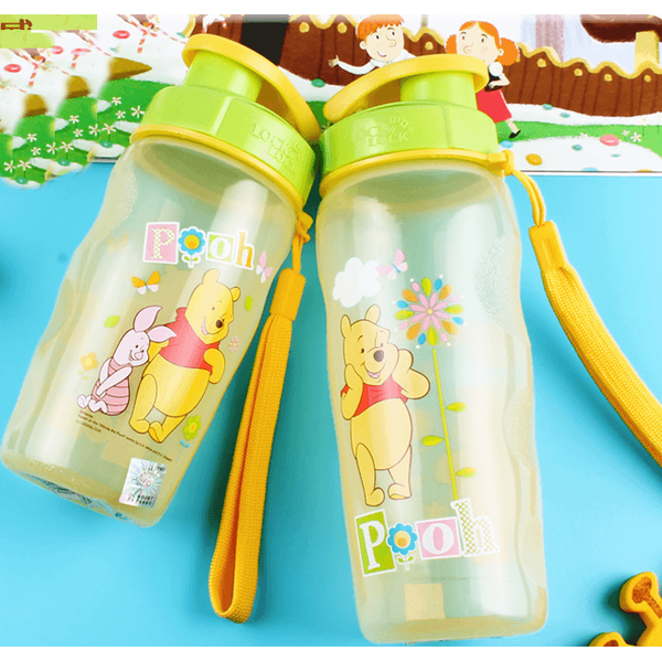 Lock&Lock Anti-Spill Winnie the Pooh Water Bottle-coffee& tea-UAE Cute Stuff