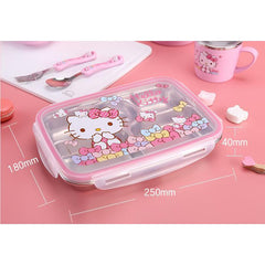 Lock&Lock stainless steel children's lunch box-dinnerware-UAE Cute Stuff