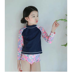 Long Sleeve with Pant Bathing Suit for Active Girl-kid clothing-UAE Cute Stuff