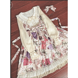 "☆ Magic Tea Party ☆ ""Spring Dance"" Lolita Dress-lolita dress-UAE Cute Stuff"