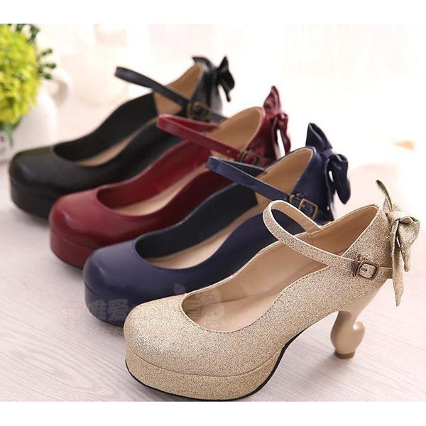 Marry Jane Shoe~4 Colours Inside~-shoe-UAE Cute Stuff