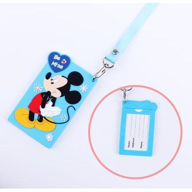Mickey Kawaii ID Lanyard-lanyard-UAE Cute Stuff