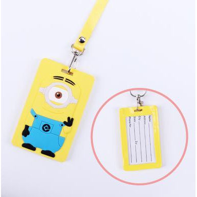 Minion Kawaii ID Lanyard-lanyard-UAE Cute Stuff