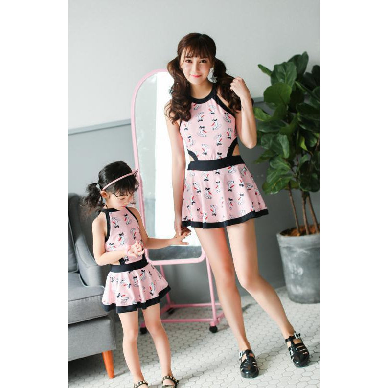 Mother& Daughter Matching Swimsuit-kid clothing-UAE Cute Stuff