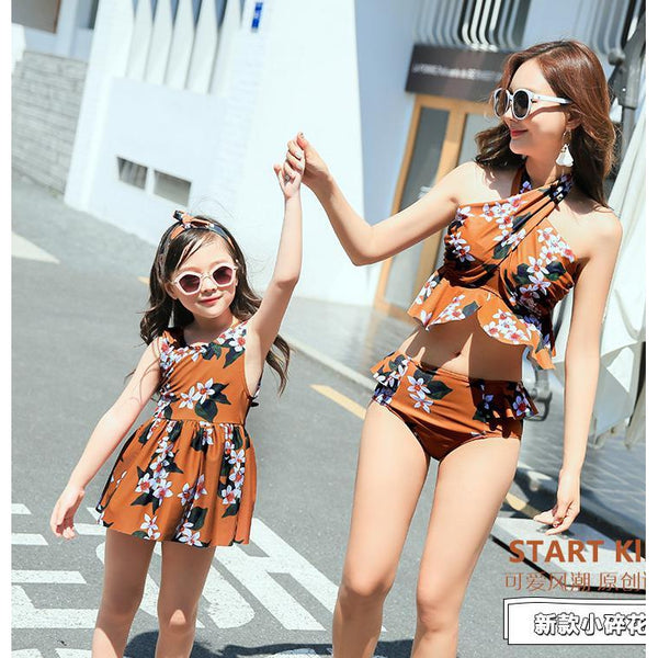 Mother& Daughter Matching Swimwear-kid clothing-UAE Cute Stuff