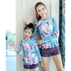 Mother & Daughter Swimsuit-Rashguard-kid clothing-UAE Cute Stuff