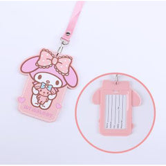 My Melody Kawaii ID Lanyard-lanyard-UAE Cute Stuff