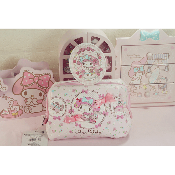 My Melody make-up bag-pencil case-UAE Cute Stuff
