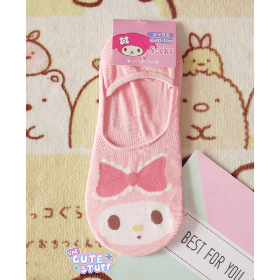 My Melody Short Sock-sock-UAE Cute Stuff