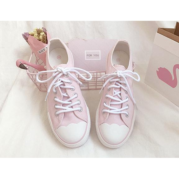 Pastel Pink Sneaker-shoe-UAE Cute Stuff