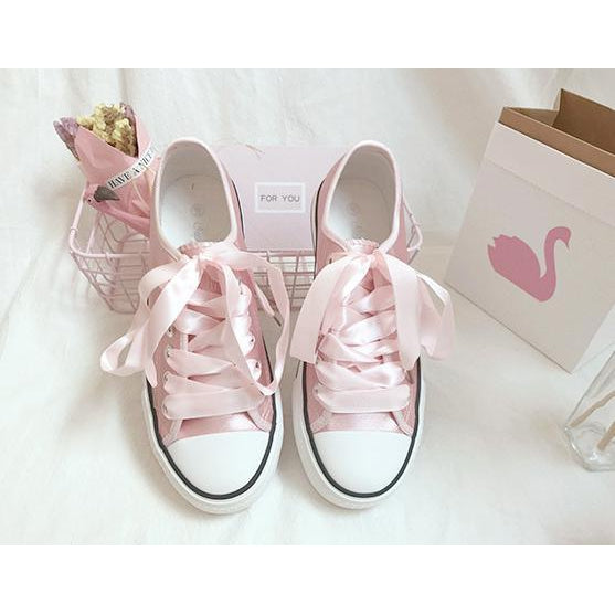Pink Ribbon Kawaii Shoe-shoe-UAE Cute Stuff