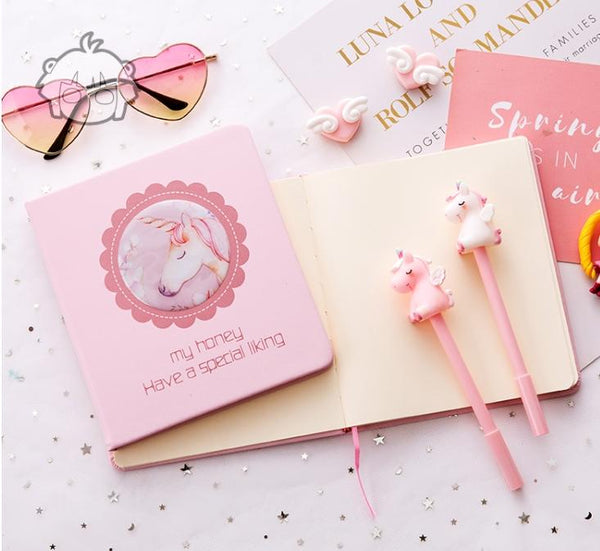 Pink Unicorn Stationery Set/ Gift Set