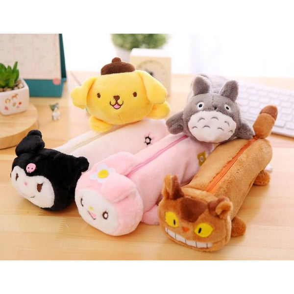 Plush Cutie Pencil/ Make-up Bag~Selections Inside-pencil case-UAE Cute Stuff