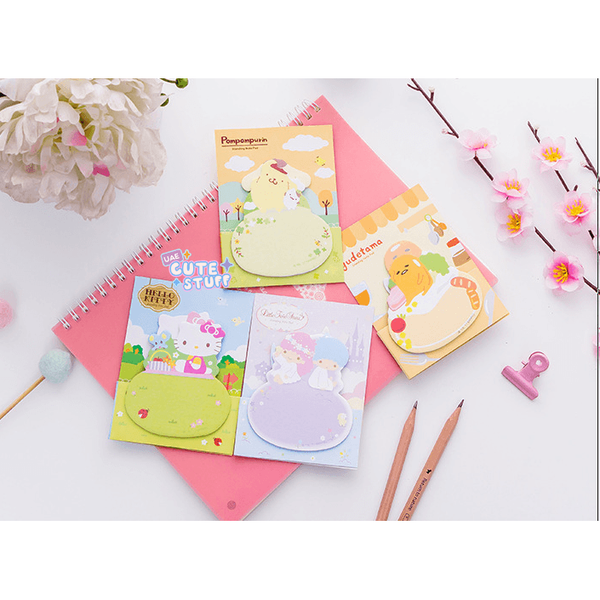Pom Pom Purin Kawaii Sticky Note?-sticky note-UAE Cute Stuff
