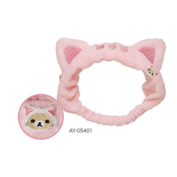 Rilakkuma Headband Pink-accessory-UAE Cute Stuff