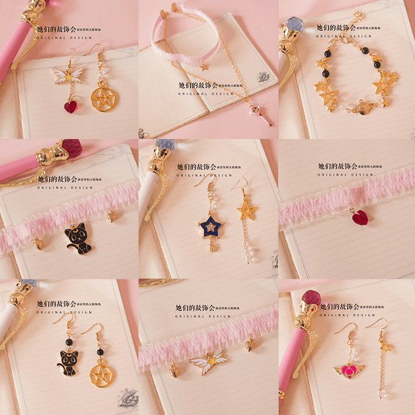 Sailor Moon Jewelry Collections-jewelry-UAE Cute Stuff