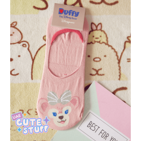ShellieMay the Bear Short Sock-sock-UAE Cute Stuff