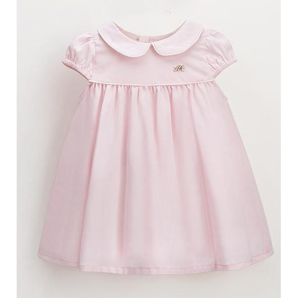 Simple and Sleek Dress Short Sleeves for Birthday, Pageant, Party/ Flower Dress-kid clothing-UAE Cute Stuff