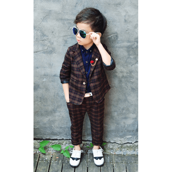 Sleek Suit for Boy-kid clothing-UAE Cute Stuff