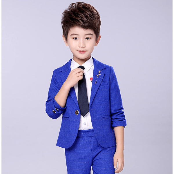Special Occasion Slim Fit Suit for Boy-kid clothing-UAE Cute Stuff