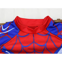 Spider man Swim Suit~ 2 pieces short sleeves-kid clothing-UAE Cute Stuff
