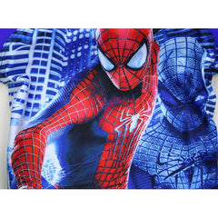 Spider Man Swim Suit~ Short Sleeves-kid clothing-UAE Cute Stuff