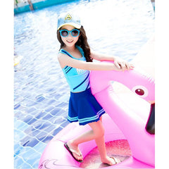 Sport Girl Skirt Bathing suit/ Swimwear-kid clothing-UAE Cute Stuff