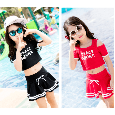 Sporty Girl Swimwear-kid clothing-UAE Cute Stuff