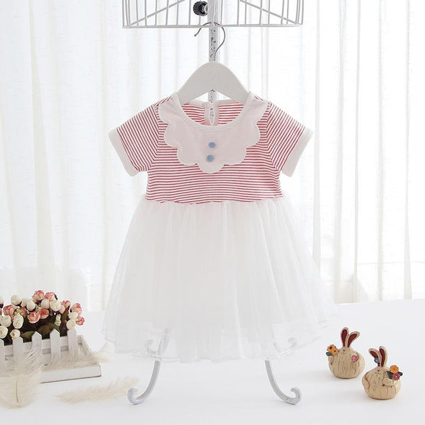 Summer Party Dress for Girls for Birthday, Pageant, Party/ Flower Dress-kid clothing-UAE Cute Stuff