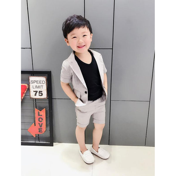 Summer Suit for Boy-kid clothing-UAE Cute Stuff