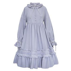Sweet Lolita original vintage dress~violet or black-lolita dress-UAE Cute Stuff