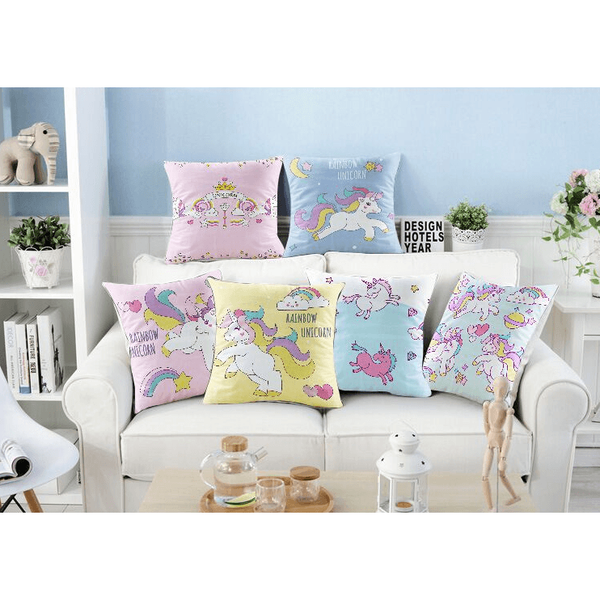Unicorn Pillow/Cushion Case-bedding-UAE Cute Stuff