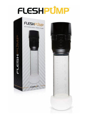 Pompe à érection rechargeable FleshPump de Fleshlight - Boutique LUV