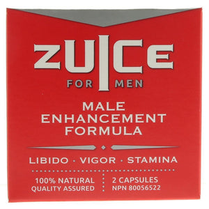 ZUICE pour homme - libido (2 capsules)