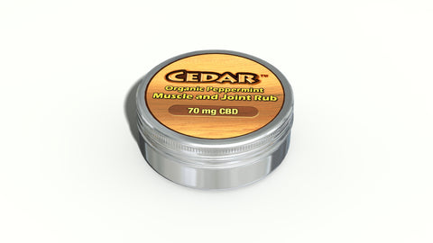 CEDAR Hemp OVA Muscle Rub - 0.5oz