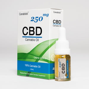 CBD Oil UK 10ml 250mg - Canabidol