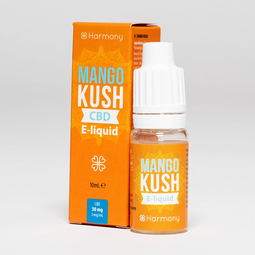 CBD Vape Oil UK 10ml 30mg Mango Kush - Harmony
