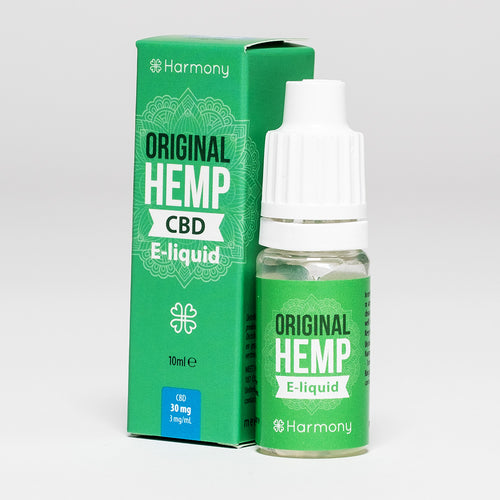 CBD Vape Oil UK 10ml 30mg Original Hemp - Harmony
