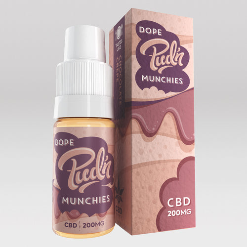 CBD Vape Oil UK 10ml 200mg Dope - Pud'n Munchies CBD
