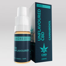 CBD Vape Oil UK 10ml 200mg Unflavoured - Shoreditch CBD