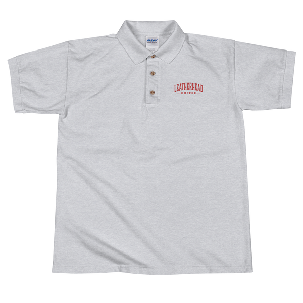 Leatherhead Coffee Embroidered Polo Shirt