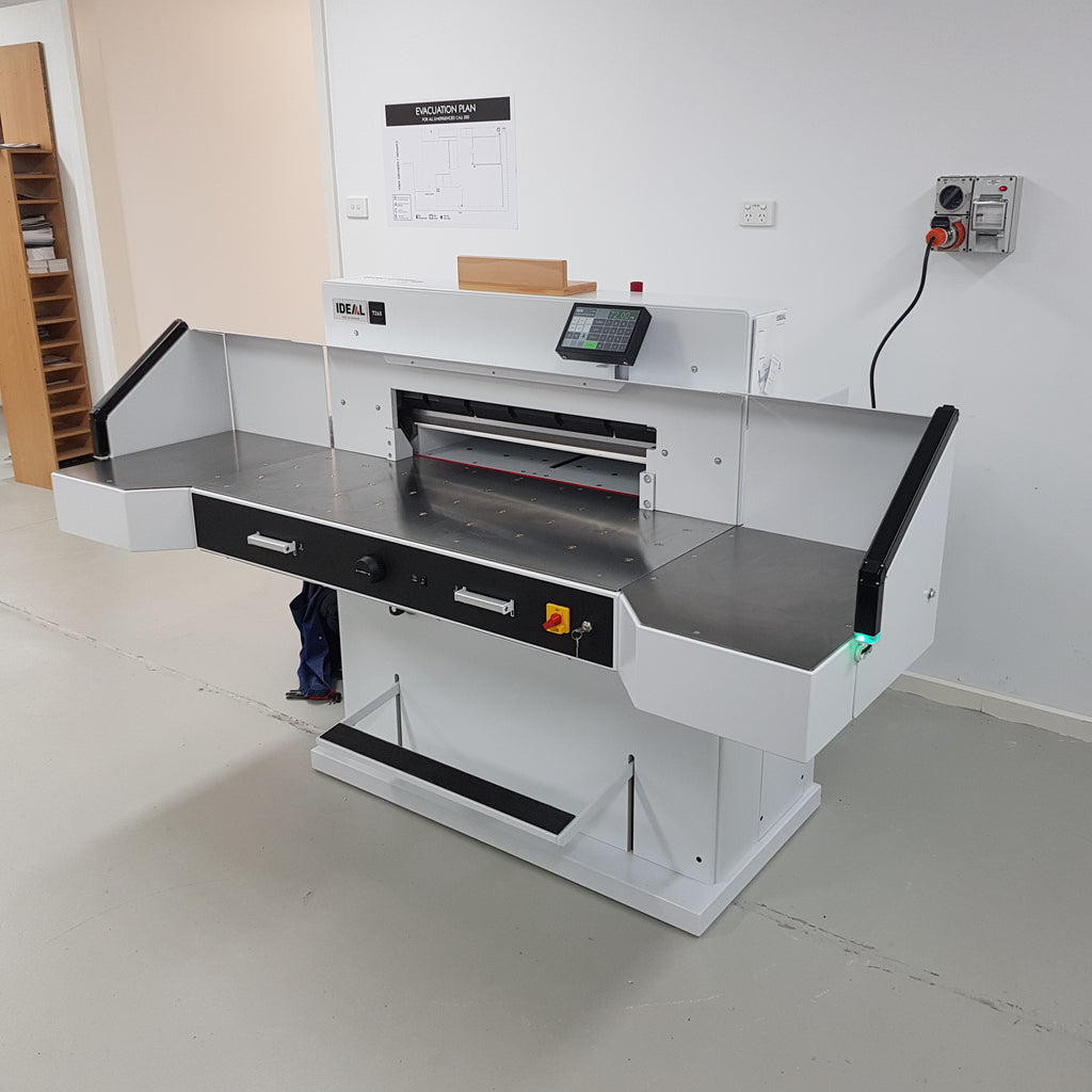 Ideal 7260 LT Programmable Professional Guillotine Now On Sale ... Limited Stocks be quick!